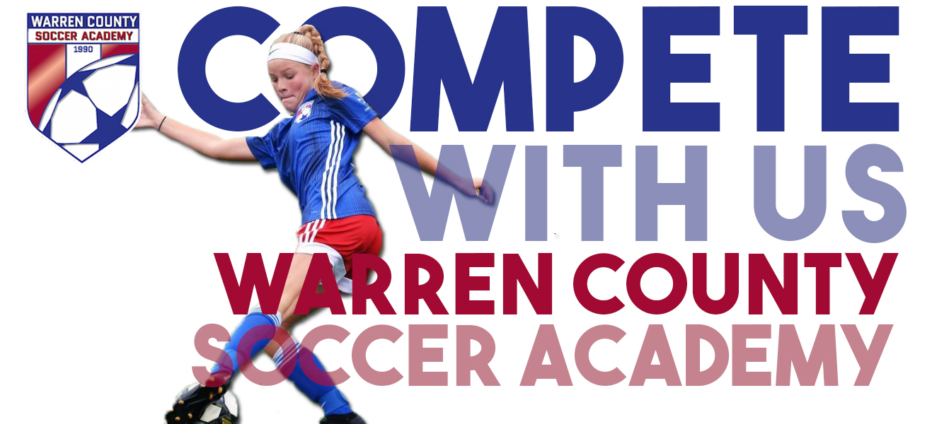 WCSA Youth Program, Ages U8-U14, Youth Soccer, Warren County Soccer Academy