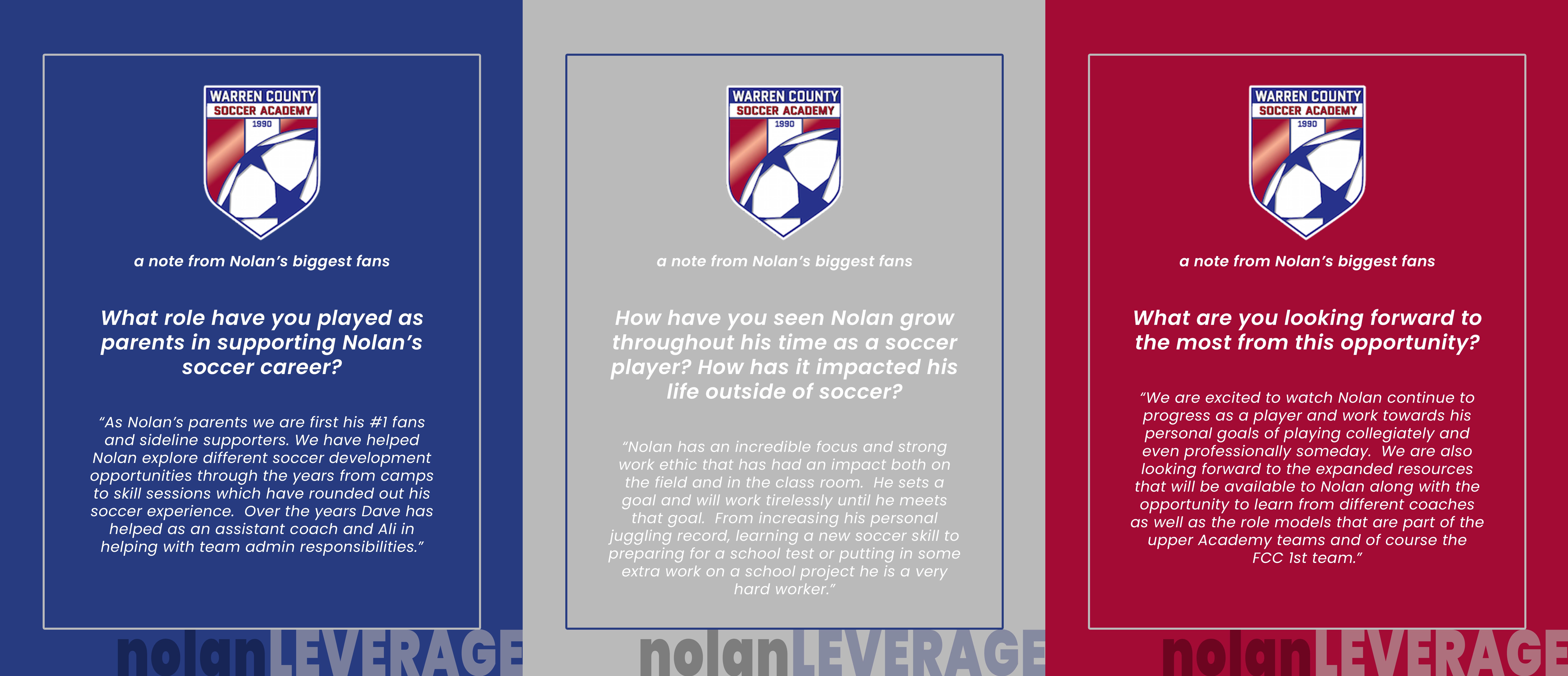 NOLAN LEVERAGE: From WCSA to FCC