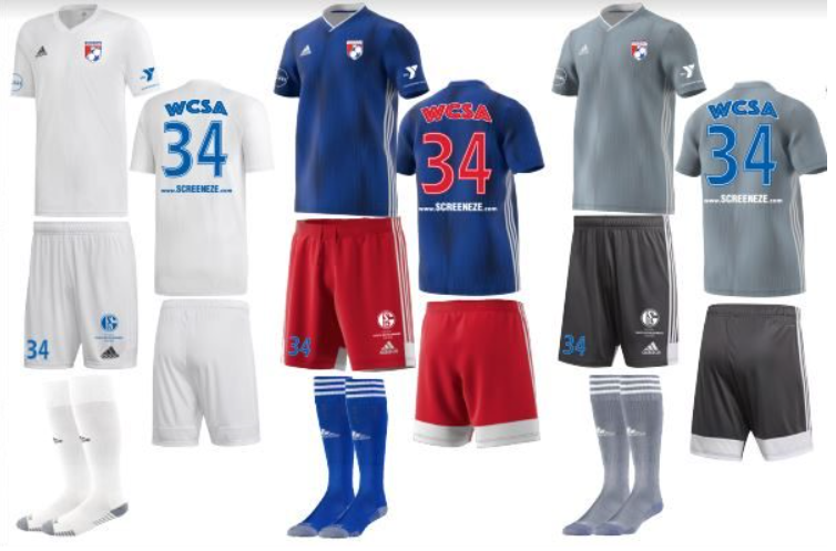 WCSA 2019-21 Boys & Girls Kits