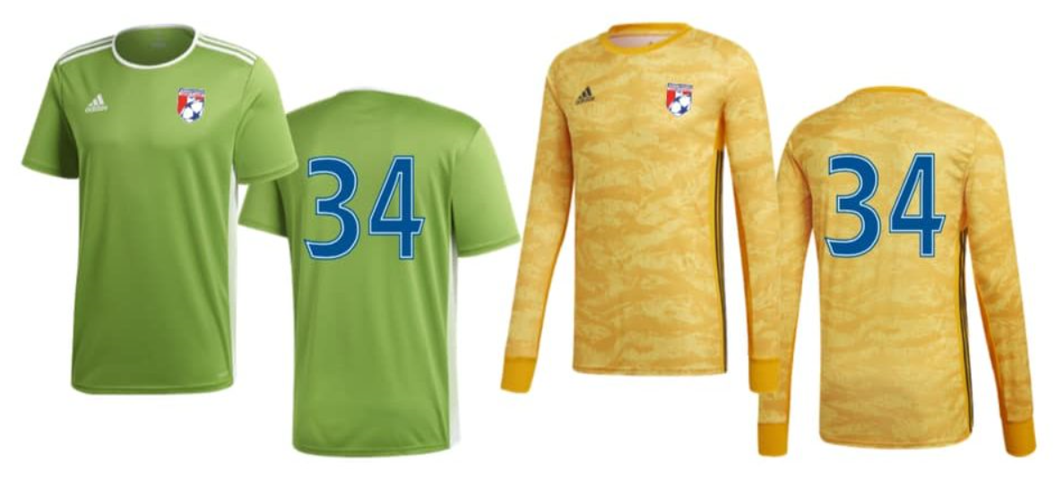 2019-21 WCSA Goalkeeper Kits